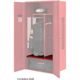 Penco 6SHX532C722 Full Bottom Shelf For Patriot Locker, 36Wx24D Patriot Red
