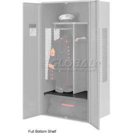 Penco 6SHX534C028 Full Bottom Shelf For Patriot Locker, 48Wx24D Gray