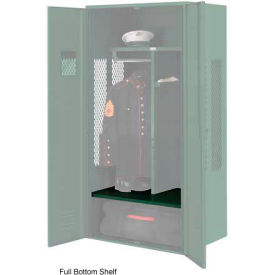 Penco 6SHX534C812 Full Bottom Shelf For Patriot Locker, 48Wx24D Hunter Green
