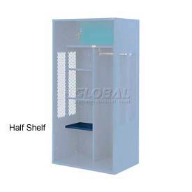 Penco 6SHX523C806 Half Shelf For Patriot Locker, 18Wx15D Marine Blue