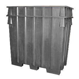 Bayhead AB-65-GRAY Nesting Pallet Container 75x45x65 1500 Lb Cap. Gray
