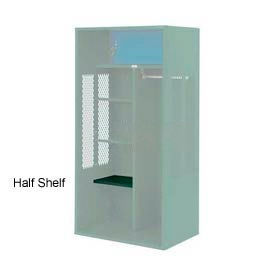 Penco 6SHX524C812 Half Shelf For Patriot Locker, 21Wx15D Hunter Green