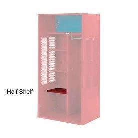 Penco 6SHX525C722 Half Shelf For Patriot Locker, 24Wx15D Patriot Red
