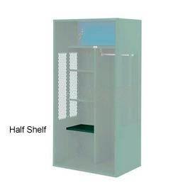 Penco 6SHX525C812 Half Shelf For Patriot Locker, 24Wx15D Hunter Green