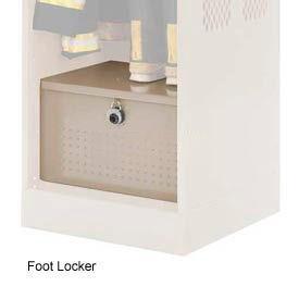 Penco 6ACXAB94H073 Foot Locker For Patriot Locker, 30x24x12 Champagne