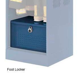 Penco 6ACXAB95H806 Foot Locker For Patriot Locker, 36x24x12 Marine Blue