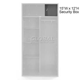 Penco 6ACXAB98H028 Security Box For Patriot Locker, 15Wx12H Gray