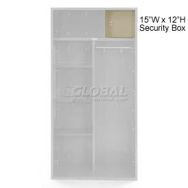 Penco 6ACXAB98H073 Security Box For Patriot Locker, 15Wx12H Champagne