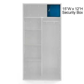 Penco 6ACXAB98H806 Patriot Locker Accessory Security Box 15Wx12H Marine Blue