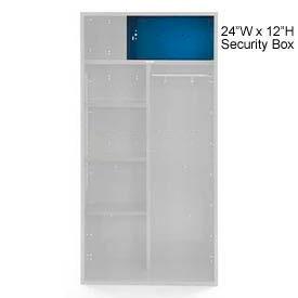 Penco 6ACXAB99H806 Security Box For Patriot Locker, 24Wx12H Marine Blue