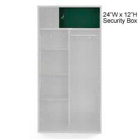 Penco 6ACXAB99H812 Security Box For Patriot Locker, 24Wx12H Hunter Green