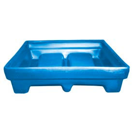 Bayhead MMPC-1BLUE Low-Walled Container 65x51x15 1000 Lb Cap. Blue