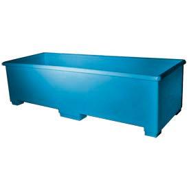 Bayhead CC-70BLUE Extra Long Plastic Container 72x27x20 600 Lb Cap. Blue