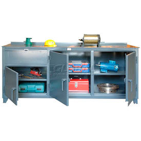 """Strong Hold 96"""" x 30"""" 12 Gauge Extra Wide Workbench"""