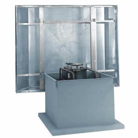 """42"""" 1-1/2hp Hooded Roof Supply Ventilator 1 Phase"""