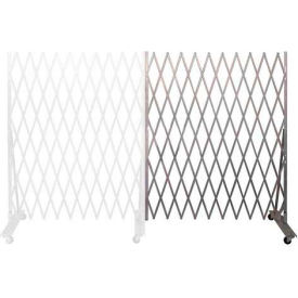 Folding Security Gate Add-on 8'Hx6'W In-Use