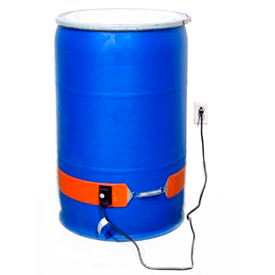 Drum Heater for 55 Gallon Plastic or Fiber Drum - 115V, 300W