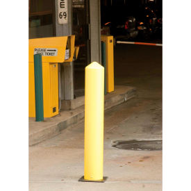 "Eagle Poly Bollard Post Yellow 5""W x 42""H, 1731"