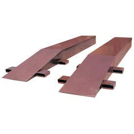 "Vestil Steel Wheel Riser Ramp SWR-18-10-60 - 60""L x 18""W x 10-1/4""H - 20,000 Lb. Cap"
