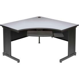 """48"""" Corner Desk Gray"""