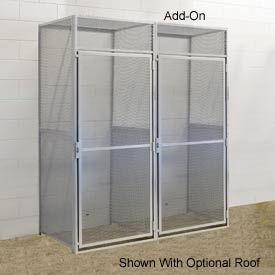 Hallowell BSL364890-R-1A-PL Bulk Storage Locker Single Tier Add-On 36x48x90