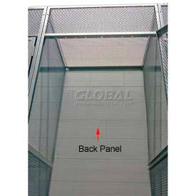 "Hallowell 4703690PL Bulk Storage Locker Back 36""Wx90""H"