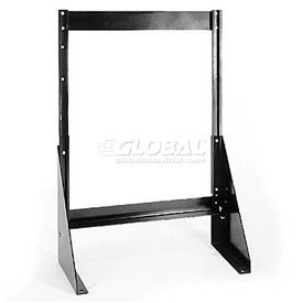 "Single Sided Floor Stand for Tip Out Bins - 24""H"