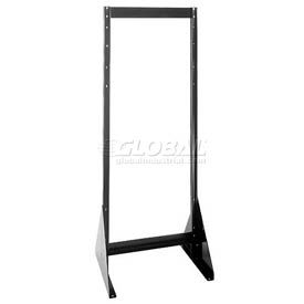 "Quantum Doubled Sided Floor Stand QFS270 for Tip Out Bins - 70""H"