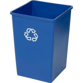 Rubbermaid® Square Recycling Container - 35 Gallon