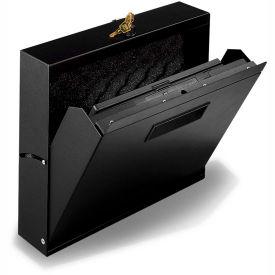 Datum Wall Mount Laptop Locker-Black, Series LTL