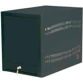 Datum Laptop Depot™ Laptop Storage Charging Cabinet, 5 Capacity Unit, Black