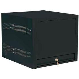 Datum Laptop Depot™ Laptop Storage Charging Cabinet, 8 Capacity Unit, Black