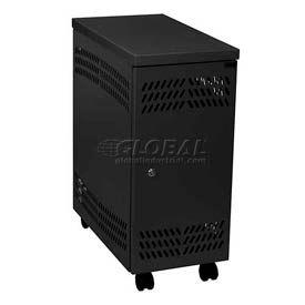 Datum Large Mobile CPU Locker CPU2-M, Black
