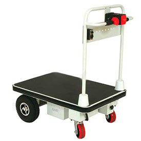 Wesco Self-Propelled Battery Powered Platform Truck 272413 24x36 1100 Lb. by