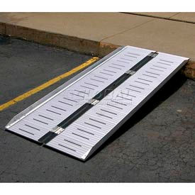 Folding Aluminum Suitcase Ramp 500 Lb. Capacity