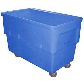 Dandux Rectangular Plastic Box Truck 51166512U-4S Blue 12 Bushel 660 Lb. Cap.