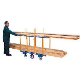 Horizontal Lumber Cart 2000 Lb. Capacity