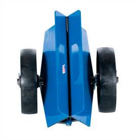 "Vestil Plate & Slab Cradle Dolly 8"" Phenolic Wheels PLDL-HD-4-8GFN 1500 Lb."
