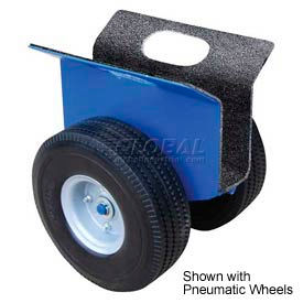 "Vestil Plate & Slab Cradle Dolly 10"" Foam-Filled Wheels PLDL-HD-4-10FF 500 Lb."