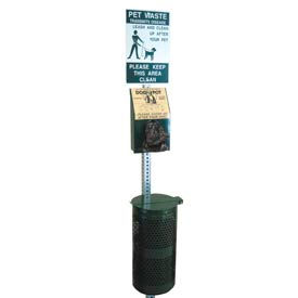 DOGIPOT® Outdoor Pet Station - Aluminum
