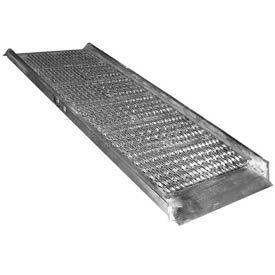 """Vestil Grip-Strut Aluminum Walk Ramp AWR-G-28-9A - 9'L x 28""""W"""