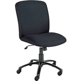 Elite Big and Tall High Back Chair - Black Fabric