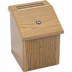 Wooden Locking Suggestion Box