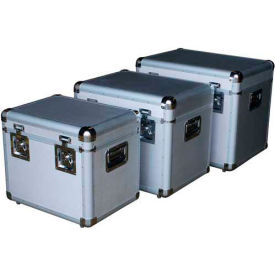 Vestil CASE-A Aluminum Storage Cases Set of Three Sizes
