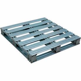 Galvanized Steel Pallet 40 x 48 x 4-3/4 8000 lbs Capacity