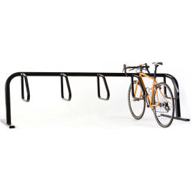 Bike Fixation 5 Bike Square Tube Single Sided Surface Mount Bike Rack