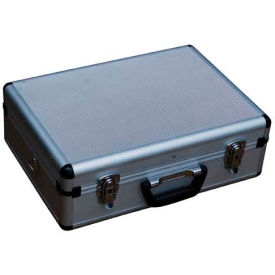 "Aluminum Tool Case - Vestil CASE-1814 18"" x 14"" x 6"" No Form With Dividers and Panels"