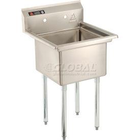 Premium Stainless Steel Non-NSF One Bowl Sink - 18 x 21