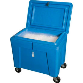 """Polar Chest Dry Ice Container with Lid and Casters PB11HLC - 42""""L x 29""""W x 39""""H"""