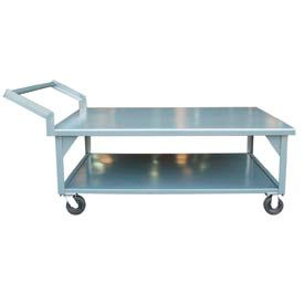 Strong Hold® T7252-CA Hercules Portable Steel Table 72x52 2000 Lb. Cap.